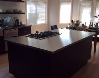 California Custom Island Stainless Steel Countertop