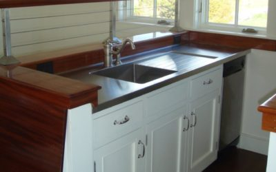 Farmer Style Stainless Steel Countertop