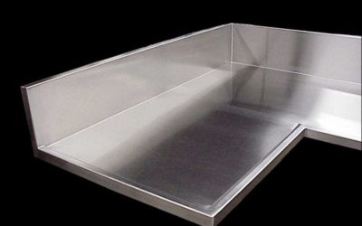 Stainless Steel Countertops- Seams, Finishes, and Edges