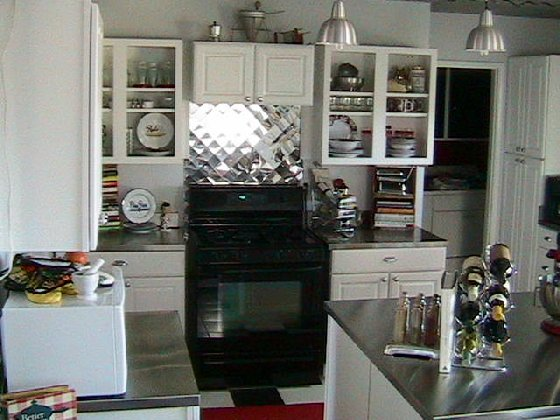 Retro 50's Stainless Steel Countertop Collection