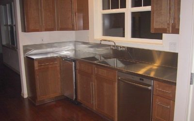 On the Hawaii Island of Maui resides one of our Stainless Steel Countertops with Custom Made Stainless Sinks…